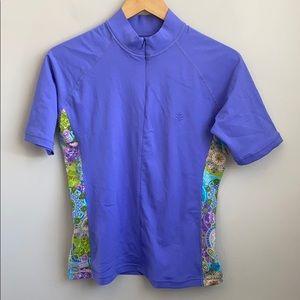NWT Coolibar short sleeve top UPF 50+ protection